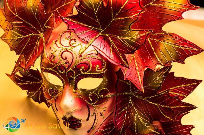 Venetian mask in Venice, Italy