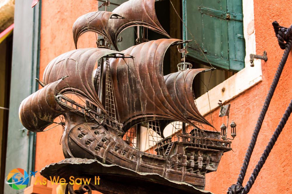Ship building company in Venice, Italy