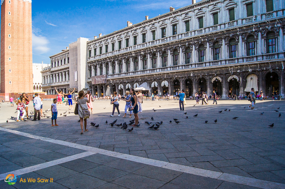 St. Marks Square, Venice, Italy