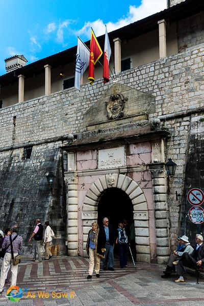 Main gate of Kotor