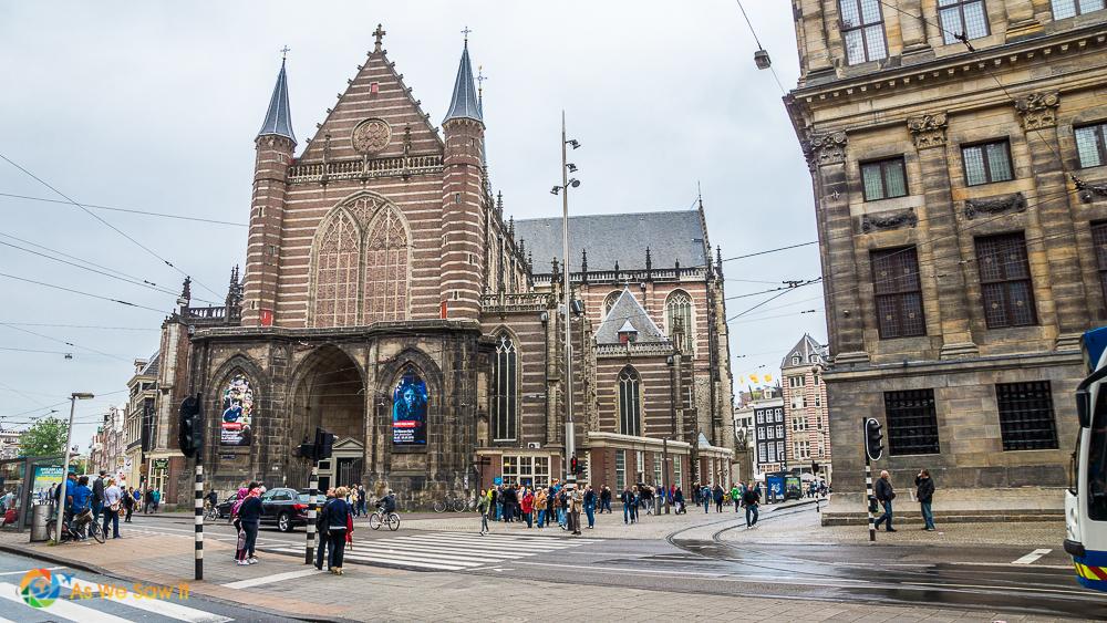 De Nieuwe Kerk churck in Amsterdam