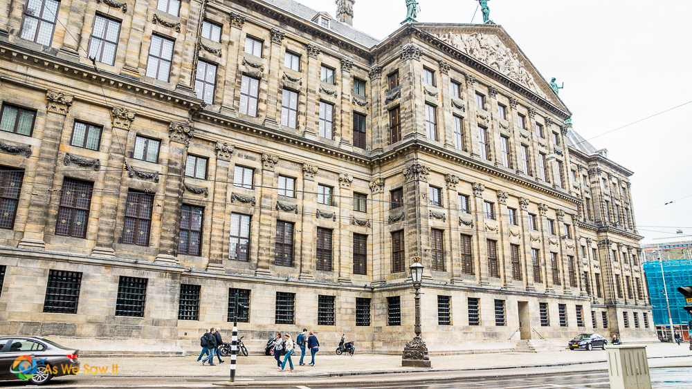 Parliament Building Amsterdam