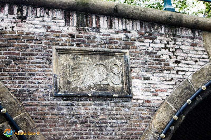 1728 Bridge in Amsterdam