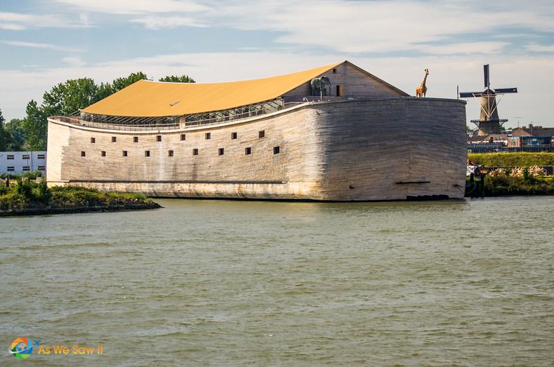Noah's ark, as seen from a Rhine River cruise ship