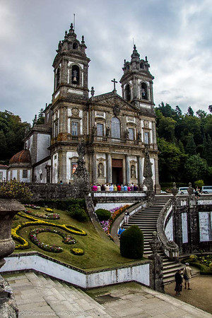 Catholic shrine Bom Jesus do Monte, Braga, Portugal