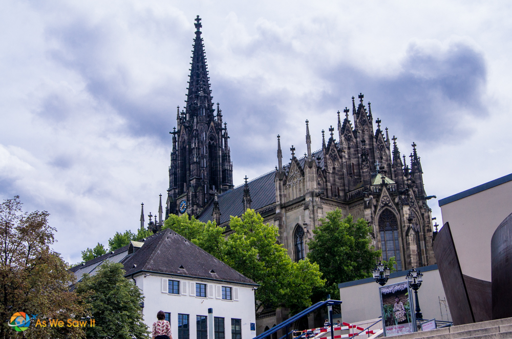 Basel, Switzerland and the Elizabeth Church.