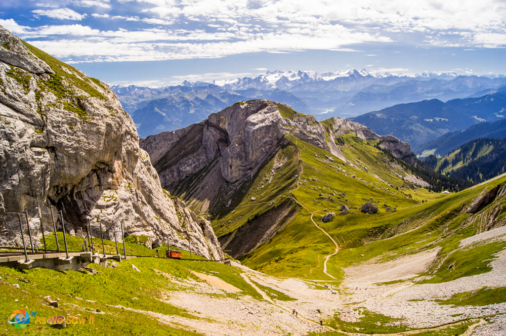 A train to the top of Mount Pilatus is also available.