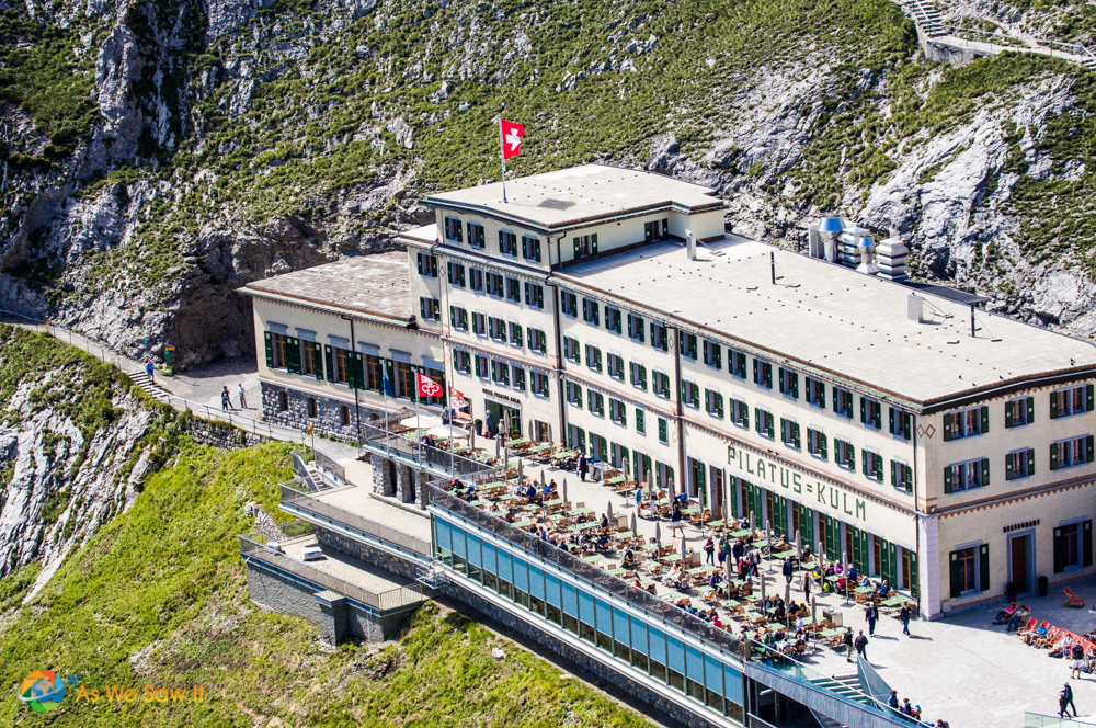 Mount Pilatus visitor center.