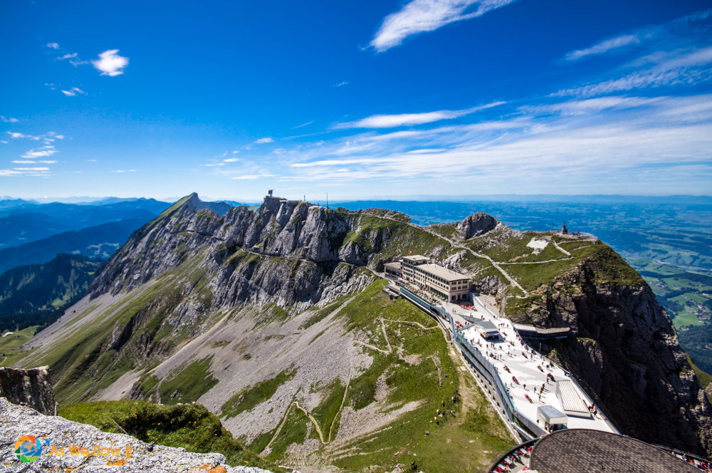 Make sure you do the hike to the top of Mount Pilatus..
