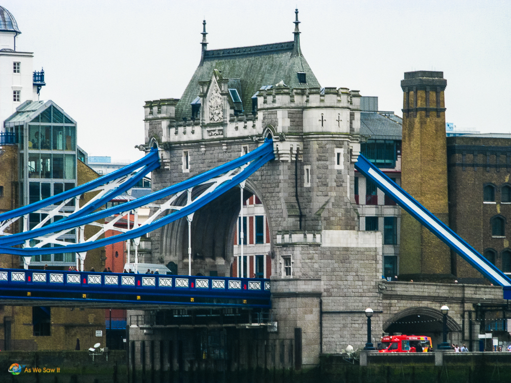 One tower of the London Bridge