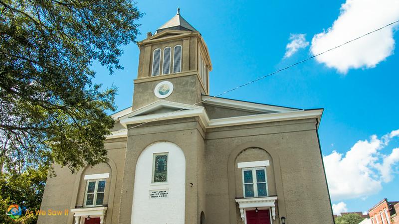 First African Baptist Church in Savannah