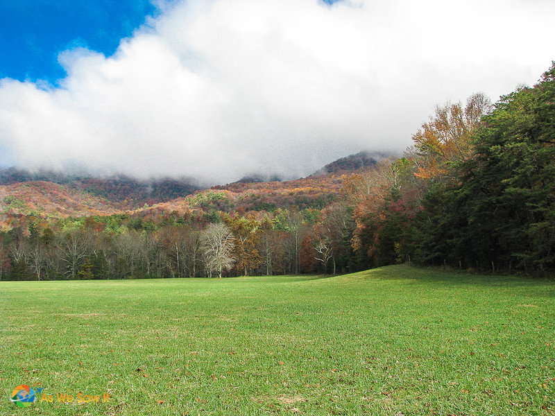 Fall colors in Cades Cove, Tennessee