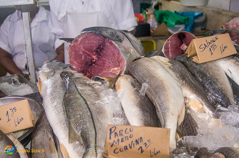 Low prices at Panama City fish market