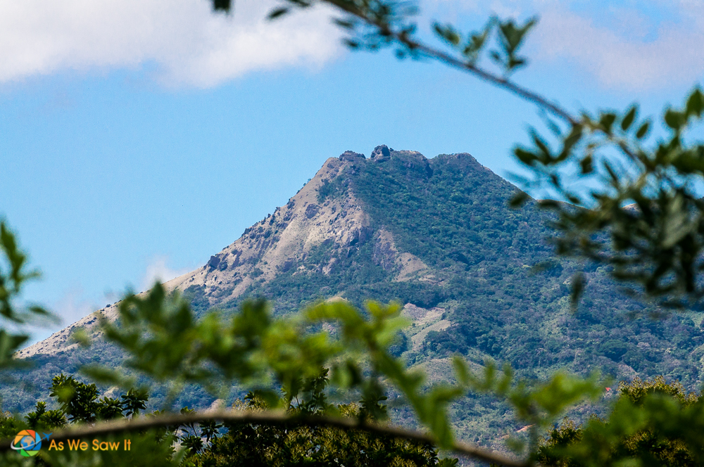 View of a mountain during our Santa Fe Panama hike