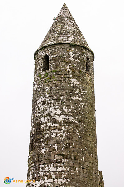 The oldest part of the historic Rock of Cashel.