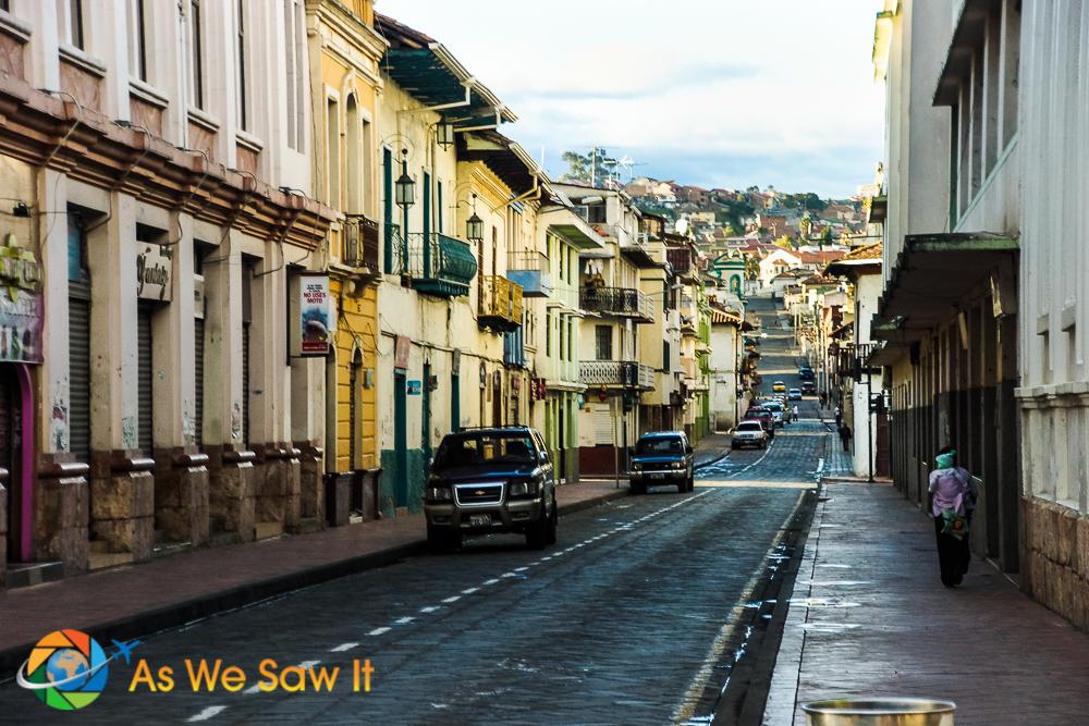 Cuenca street
