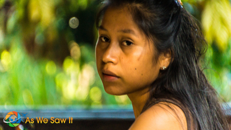 Portrait of a Kichwa woman